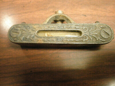 Antique Cast Iron Pocket Level late 1800's (working)