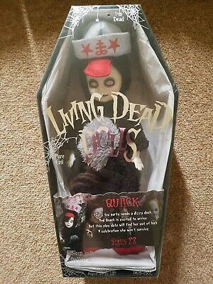 Dolls, Clothing & Accessories Precise Living Dead Doll Series 22 Roxie Bnib New Sealed Goods Of Every Description Are Available