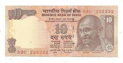India Rs 2 1965 P C Bhattacharya Inset Plain UNC Olive Green Note Prefix A