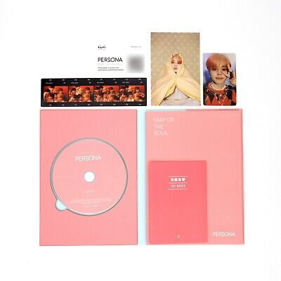 [BTS]6th mini Album-MAP OF THE SOUL:PERSONA/Boy with Luv/Ver. 4/Album+JIMIN pc