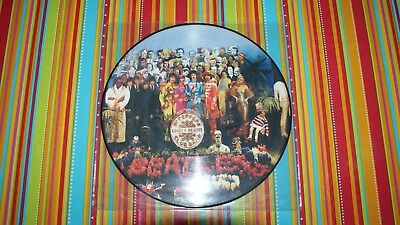 The Beatles 33 Giri Sgt.peppers Lonely Heart Pictures Disc Nuovo Non Sigillato