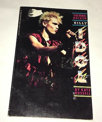 Billy Idol Kate Russell 1985 Rebel Yell New Wave Punk Rock Generation X