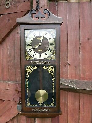 Vintage Pendulum 31 Day Grandfather Wall Clock Korea