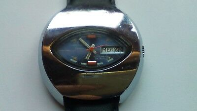 Vintage '60-70 Jaquet.Girard automatic wristwatch with original dial shape
