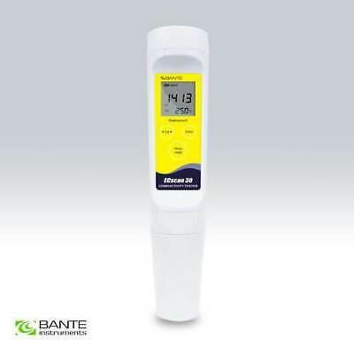 Bante Instruments Ecsan 30 Waterproof Pocket Conductivity TDS Tester Meter