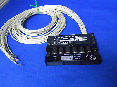 65-0935-55 Grimes Light Indicator  6 Lamp 15 Wire Lead  New Old Stock