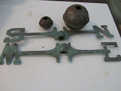 vintage weather vane parts nice petina