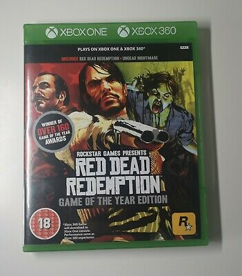 Red Dead Redemption -- Game of the Year Edition xbox one