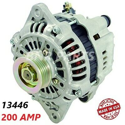 200 AMP 13446 Alternator Mazda Ford Probe 626 MX-3 MX-6 High Output Performance