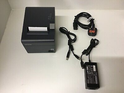 Epson TM-T20II Thermal Receipt Printer Comes With Power Supply And Usb Lead