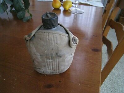 World War Ww Ii U.s. Army Canteen And Cover All Dated 1945