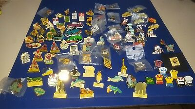 Pins Publicitaire Vintage Lot De 92 Piece
