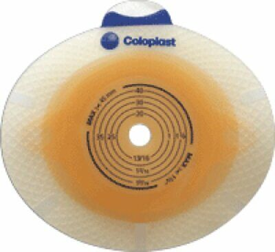 "Coloplast SenSura 2-Piece CTF Skin Barrier 3/8"" to 1-3/8"" Opening 5/bx 10011"