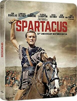 Spartacus (Blu-ray Steelbook) 55TH ANNIVERSARY EDITION - NEW / SEALED