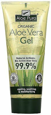 Organic Aloe Vera Skin Care Face Gel Pure Body Moisture Natural Soothing 200ml