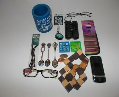 Junk drawer lot 2 cool misc assorted items AS IS condition see photos pre owned