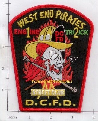 Washington DC - Engine 1 Truck 2 District of Columbia Fire Dept Patch