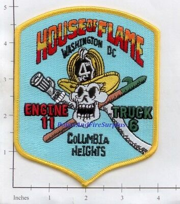 Washington DC - Engine 11 Truck 6 District of Columbia Fire Dept Patch