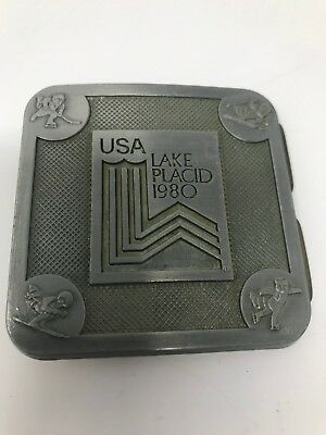 Vintage K2 Belt Buckle - 1980 Lake Placid