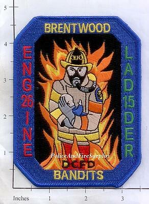 Washington DC - Engine 26 Truck 15 District of Columbia Fire Dept Patch
