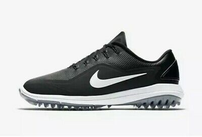 887e0a54f8562a New Men s Sz 9 Nike Lunar Control Vapor 2 Golf Shoes Black White 899633-002