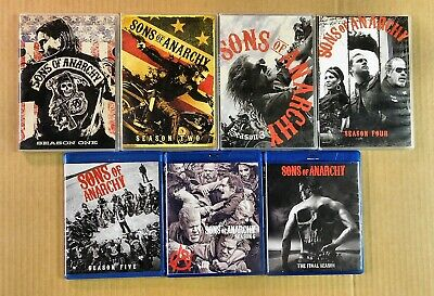 Sons of Anarchy The Complete Series Season 1-7