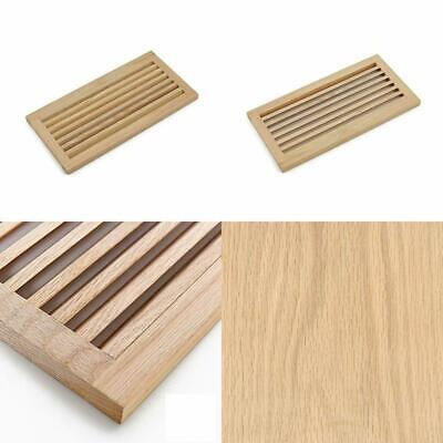 Hardwood Vent Baseboard Diffuse Wall Register Clear Finish WELLAND