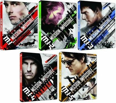 Mission: Impossible 1-5 Set (Blu-ray Steelbook) BRAND NEW