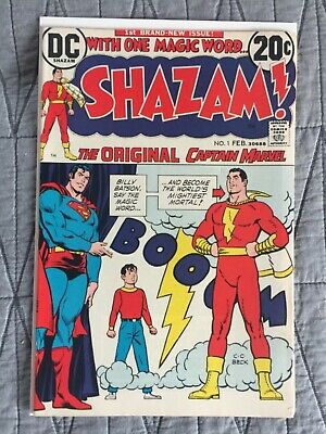 Rare 1973 Bronze Age Shazam #1 Key 1St Issue