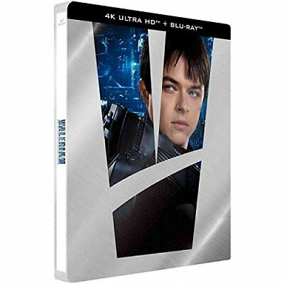 Valerian and the City of a Thousand Planets (4K UHD + Blu-ray Steelbook) NEW!