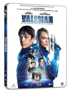 Valerian and the City of a Thousand Planets (Blu-ray Steelbook) BRAND NEW!