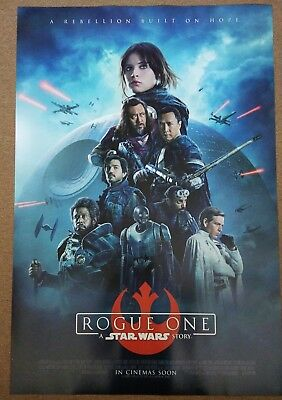 ROGUE ONE: A STAR WARS STORY 2016 Original 27x40 DS Int'l Movie Poster C