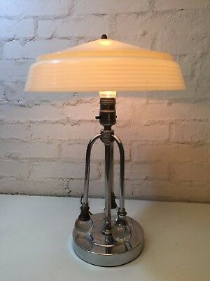 Space age Mod  table lamp UFO shade , Mid century , Eames