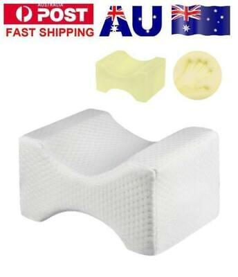 Memory Foam Leg Pillow Cushion Knee Support Pain Relief Shaping Washable Cover E