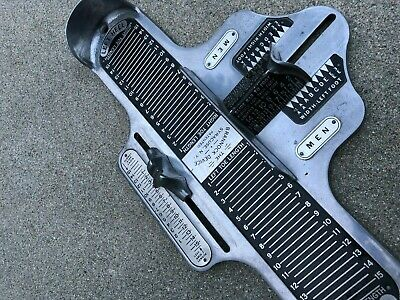 The Brannock Device Vintage Men's Old School Shoe Sizer | Great Condition
