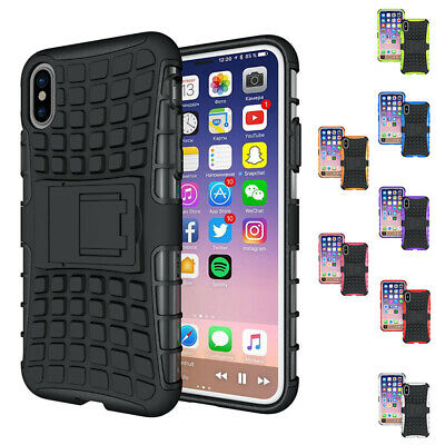 Duty Rugged Drop Protection Shock Proof Dual Hybrid Defender Armor with Bui V5W2
