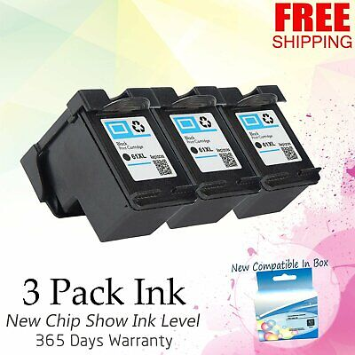 4 PACK #61XL CH563 CH564 For HP Deskjet 2544 3000 3050 3050A 3051A 3052A 3054