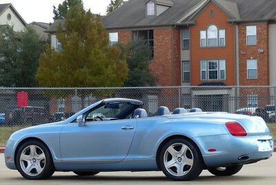 2007 Bentley Continental GT Navy Blue Leather