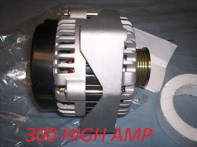 300 HIGH AMP ALTERNATOR CHEVROLET AVALANCHE 5.3L 2003-2004 Escalade Hummer Tahoe