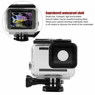 For GoPro Hero5 45M Waterproof Case Underwater Protective Shell Housing Box TY