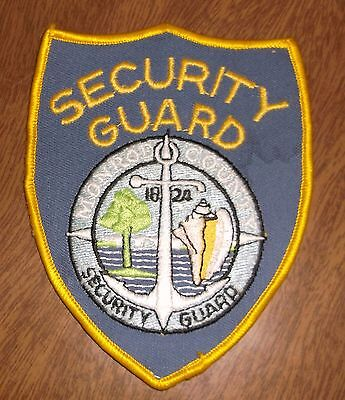 Older Sewing Patch - Security PGS Special Police - Obsolete
