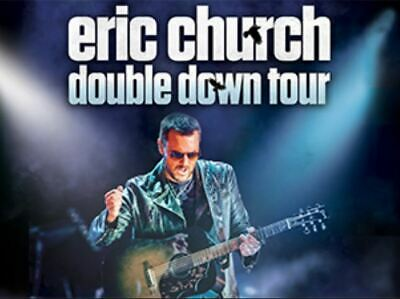 Two Eric Church Tickets  Double Down Tour Sat., April 27 @ 8pm  Greenville, SC