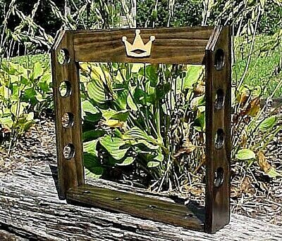 New Solid Wood Golf Club Display Rack for 4 Scotty Cameron Putters & Headcovers