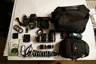 CANON EOS REBEL T2i Digital Camera - with Black EFS 18-55mm lens