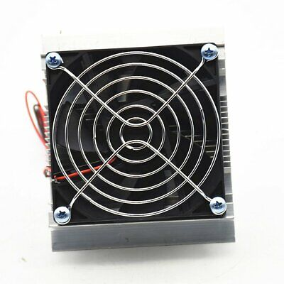 12V Thermoelectric Peltier Refrigeration Cooling Cooler Fan System Kit TY