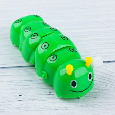 Cute Plastic Caterpillar Wind Up Toys Funny Clockwork Toy For Kids Toy Gifts