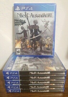 Nier: Automata [PlayStation 4 PS4] - BRAND NEW AND FACTORY SEALED