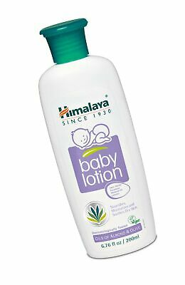 Himalaya Baby Lotion with Olive Oil and Almond Oil, Free from Parabens, Miner...