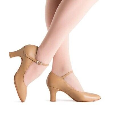 Bloch Cabaret Shoes Tan Size 7 Worn once