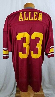 70e07684c32 Vintage Russell Athletic Collegiate Legends Usc Marcus Allen 33 Throwback  Jersey